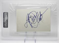 "Dolly Parton Signed 4""x6"" Card Country Legend Psa/dna Encapsulated 83508588"