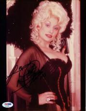 Dolly Parton Signed Authentic Autographed 8x10 Photo PSA/DNA #X22981