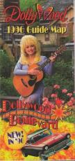 Dollywood 1996 Guide Map Dolly Parton