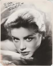 Dolores Hart Signed 8x10 Photo Inscribed Autograph Jsa Elvis Presley Co-star