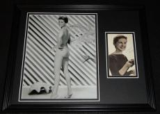 Dolores Hart Signed Framed 11x14 Photo Display