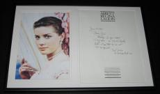 Dolores Hart Signed Framed Handwritten Letter & Photo Display