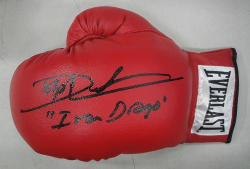 Dolph Lundgren Hand Signed Autographed Everlast Glove Ivan Drago Rocky 4 JSA