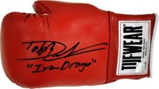 "Dolph Lundgren ""Ivan Drago"" Signed ROCKY IV Tuf Wear Boxing Glove"