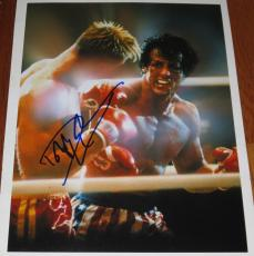 Dolph Lundgren Signed 11x14 Photo Drago Rocky Stallone Expendables Proof Coa C
