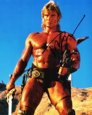 Dolph Lundgren Signed - Autographed Masters of the Universe 8x10 inch Photo - Guaranteed to pass PSA or JSA - Rocky IV Actor