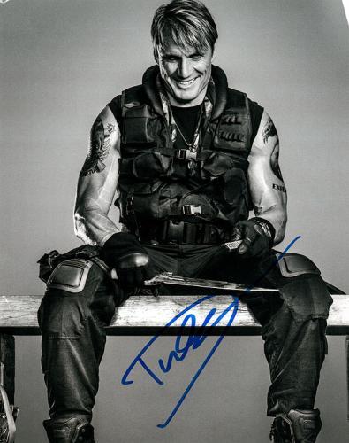 Dolph Lundgren The Expendables Autographed Photo UACC RD AFTAL RACC TS