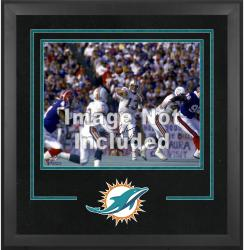 Miami Dolphins Deluxe 16'' x 20'' Horizontal Photograph Frame with Team Logo - Mounted Memories