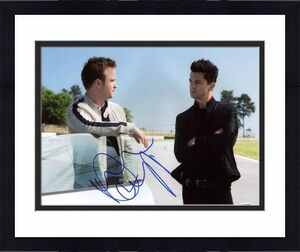 Dominic Cooper Need For Speed Signed 11X14 Photo PSA/DNA #W11776