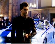 Dominic Cooper Signed - Autographed Need for Speed Actor 8x10 inch Photo - Guaranteed to pass BAS