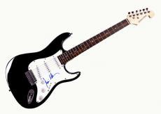 Dominic Miller Autographed Signed Sting Guitar UACC RD COA AFTAL