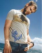 """DOMINIC MONAGHAN as CHARLIE PACE in TV Series """"LOST"""" Signed 8x10 Color Photo"""