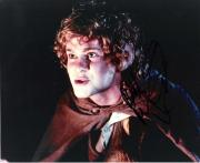 """DOMINIC MONAGHAN as MERIADOC BRANDYBUCK in """"THE LORD of the RINGS"""" Signed 10x8 Color Photo"""