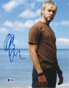 Dominic Monaghan Signed 8x10 Photo Lost Beckett Bas Autograph Auto Coa A
