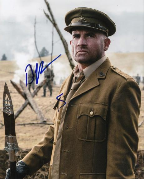 DOMINIC PURCELL signed (LEGENDS OF TOMORROW) 8X10 *PROOF* HEAT WAVE W/COA #2