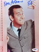"Don Adams Autographed 8""x 10"" Get Smart Looking through Window Photograph With ""86"" Inscription - PSA/DNA COA"