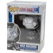 Don Cheadle Iron Man 3 Autographed #128 War Machine Funko Pop! - JSA