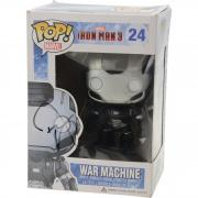 Don Cheadle Iron Man 3 Autographed #24 War Machine Funko Pop! - JSA