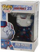 Don Cheadle Iron Man 3 Autographed #25 Iron Patriot Funko Pop!