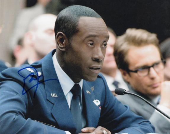 Don Cheadle signed 8x10 Photo w/COA Oceans Eleven Iron Man 2