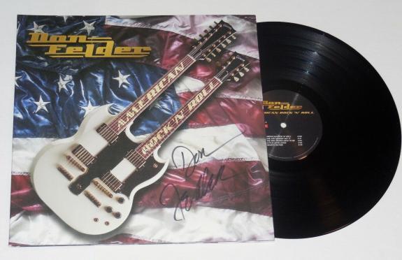 Don Felder Autographed Vinyl Lp Album (american Rock & Roll) - The Eagles!