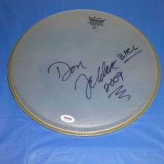"Don Felder Eagles Rare! Signed 12"" Remo Drum Head Autographed Psa/dna Cert!!!!!"