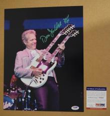 Don Felder Signed Autographed 11x14 Photo THE EAGLES Guitarist PSA/DNA COA