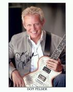 Don Felder Signed Autographed 8X10 Photo The Eagles Guitarist PSA T72069
