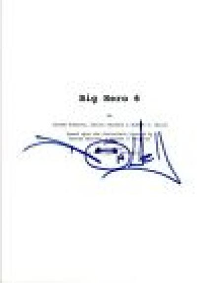 Don Hall Signed Autographed BIG HERO 6 Movie Script Director COA VD