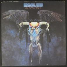 """Don Henley Autographed Eagles """"One Of These Nights"""" Album Signed PSA DNA COA"""