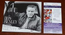 DON HENLEY hand signed Autographed CASS COUNTRY CD + JSA COA R13438 / EAGLES