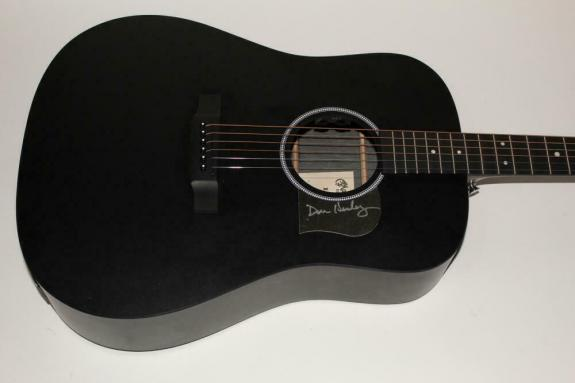Don Henley Signed Autograph C.f. Martin Acoustic Guitar -eagles Hotel California
