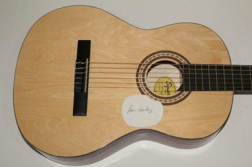 Don Henley Signed Autograph Fender Brand Acoustic Guitar Eagles Hotel C Id: 6407