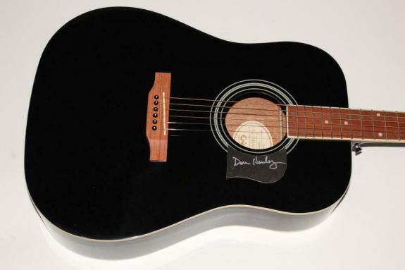 Don Henley Signed Autograph Gibson Epiphone Acoustic Guitar - Eagles Legend
