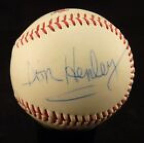 Don Henley The Eagles Signed Autographed Ball Baseball Beckett Certified