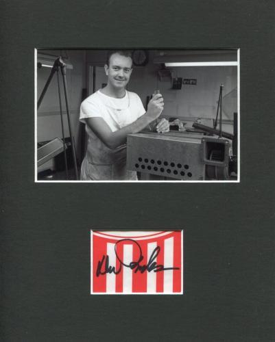 Don Iwerks Disney Legend Circle-Vision 360 Rare Signed Autograph Photo Display