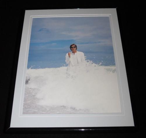 Don Johnson 1985 Framed 11x14 Photo Display Miami Vice