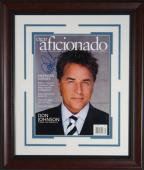 Don Johnson Signed Cigar Aficionado Framed Display