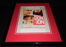 Don Jon 2013 Framed ORIGINAL 11x14 Advertisement Scarlett Johansson