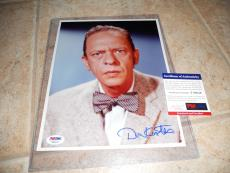 Don Knotts Andy Griffith Show Barney Fife 8x10  Photo PSA Certified #6
