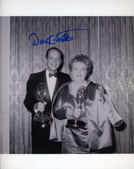 DON KNOTTS BARNEY FIFE PSA DNA Coa Hand Signed 8x10 Photo Autograph Auth