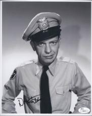 Don Knotts Signed 'andy Griffith Show' 8x10 Photo Autograph Jsa Coa