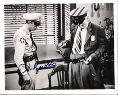 "DON KNOTTS ""THE ANDY GRIFFITH SHOW"" Signed 10x8 B/W Photo"