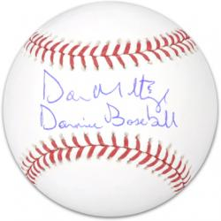 Don Mattingly New York Yankees Autographed Baseball with Donnie Baseball Inscription - Mounted Memories