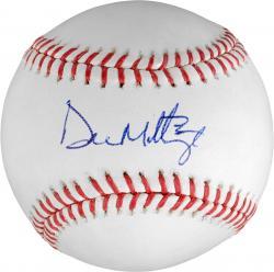 Don Mattingly Autographed Baseball