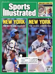 Don Mattingly & Darryl Strawberry Dual Autographed New York, New York Sports Illustrated Magazine