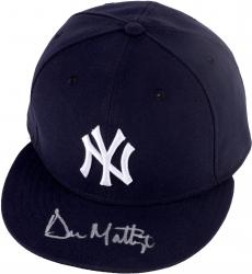 Don Mattingly New York Yankees Autographed New Era Cap