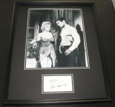 Don Murray Signed Framed 16x20 Photo Poster Display Bus Stop w/ Marilyn Monroe