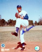 Don Newcombe Los Angeles Dodgers Autographed 8'' x 10'' MLB Photograph - Mounted Memories