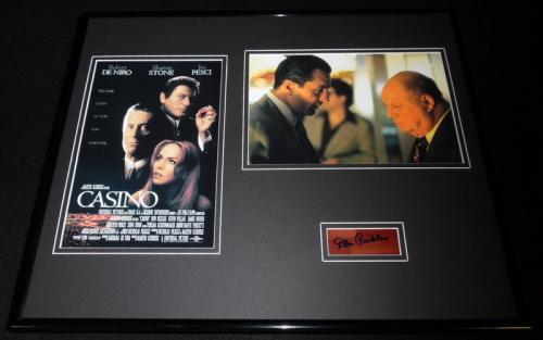 Don Rickles Signed Framed 16x20 Photo Poster Set Casino w/ Robert De Niro